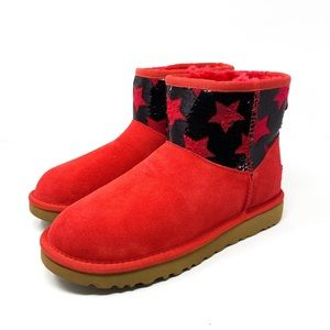 UGG Women's Classic Mini Sequin Star Boots